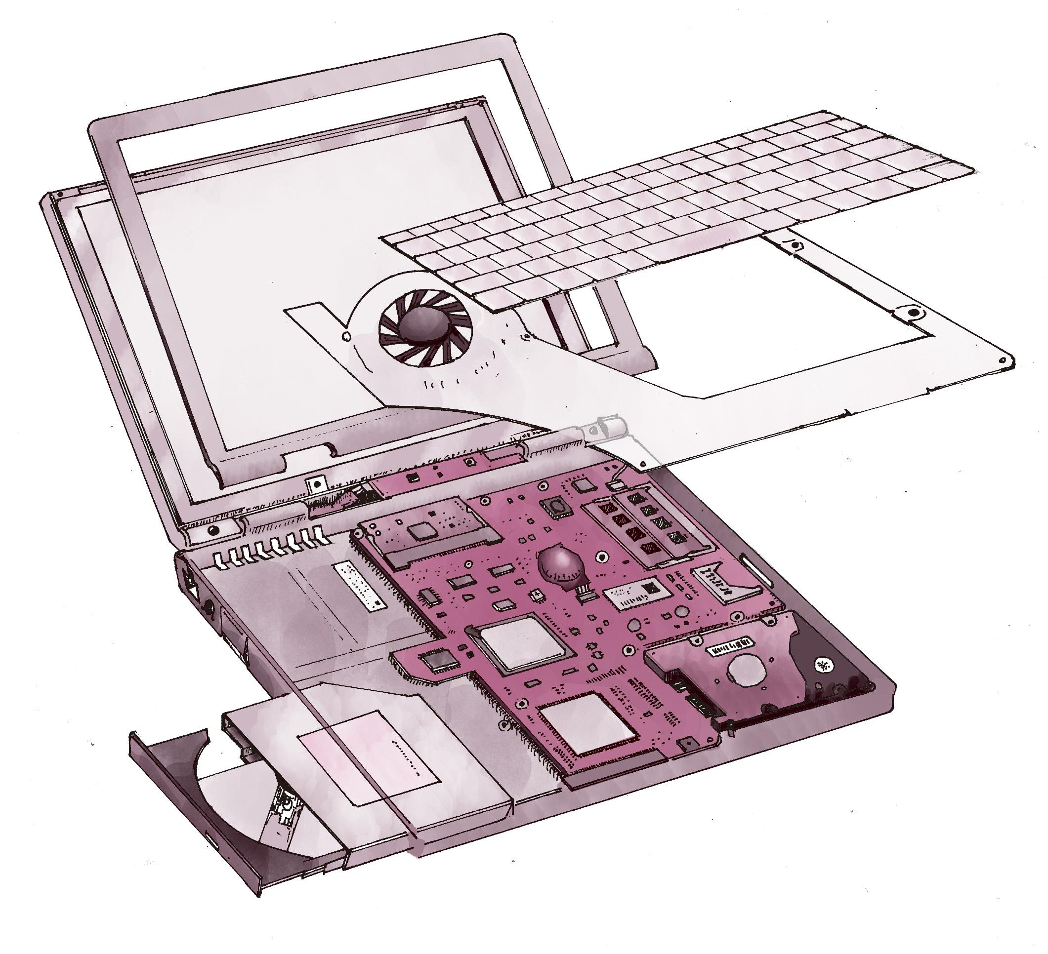 パソコンはどんな部品からできてるの?