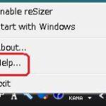 キーボード操作でウィンドウを操作するフリーソフト「reSizer」