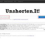 短縮URLのリンク先が安全か調べられるサイト